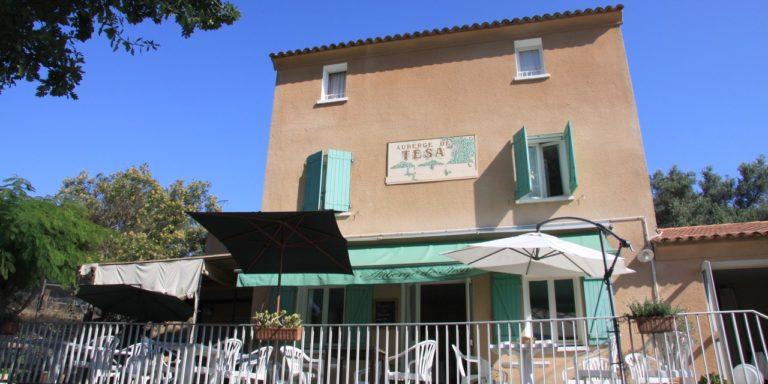 Auberge de Tesa Occhiatana Lozari Reginu Balagne Corsica Frankrijk façade