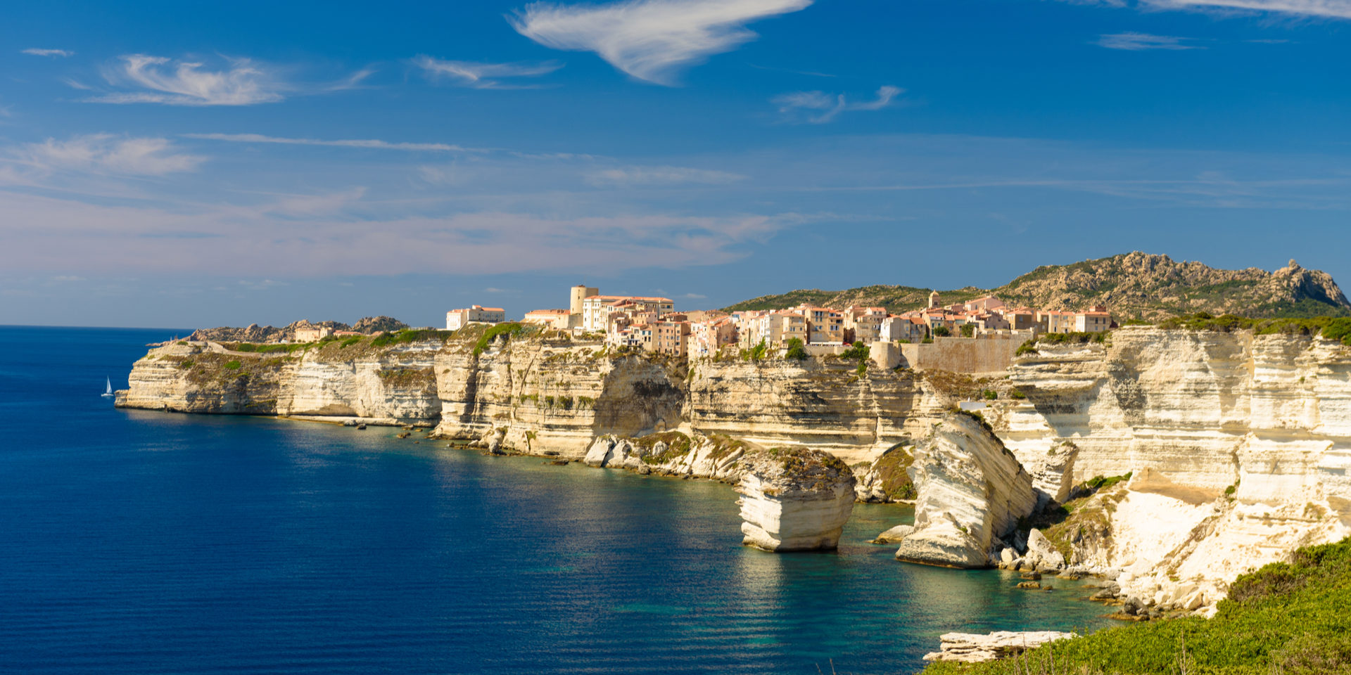 Bonifacio Corsica Frankrijk Grain-de-Sable