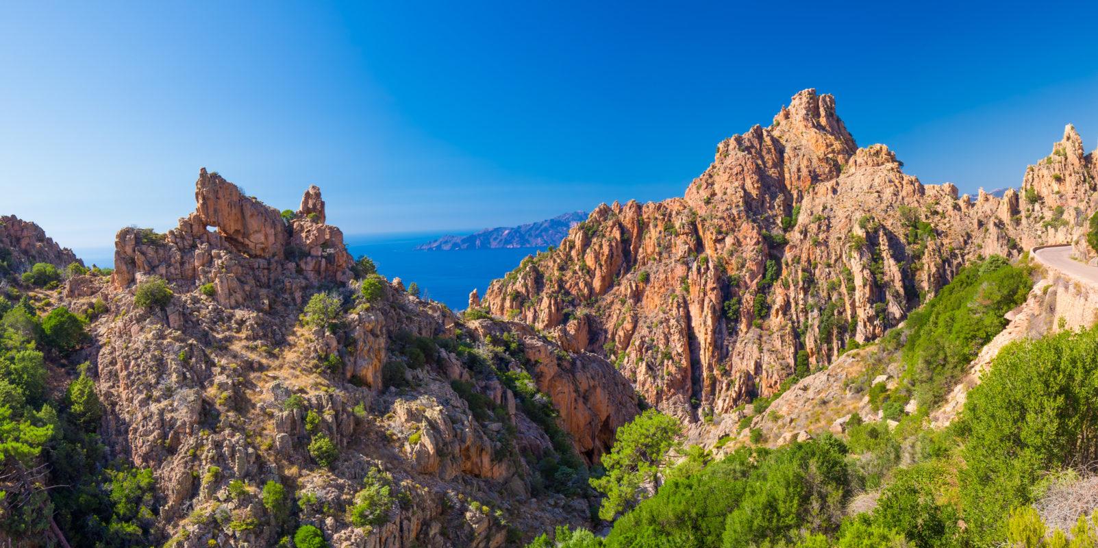 Calanches-de-Piana Corsica Frankijk