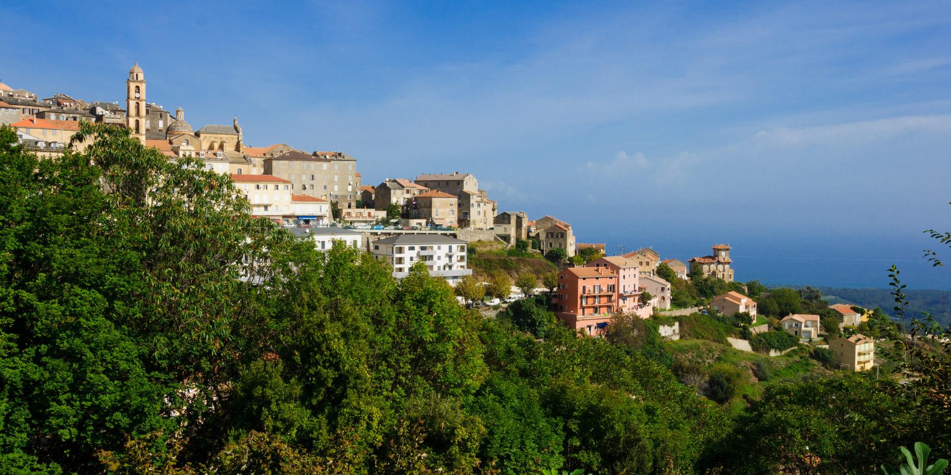 Cervione Castagniccia Costa Verde Corsica Frankrijk