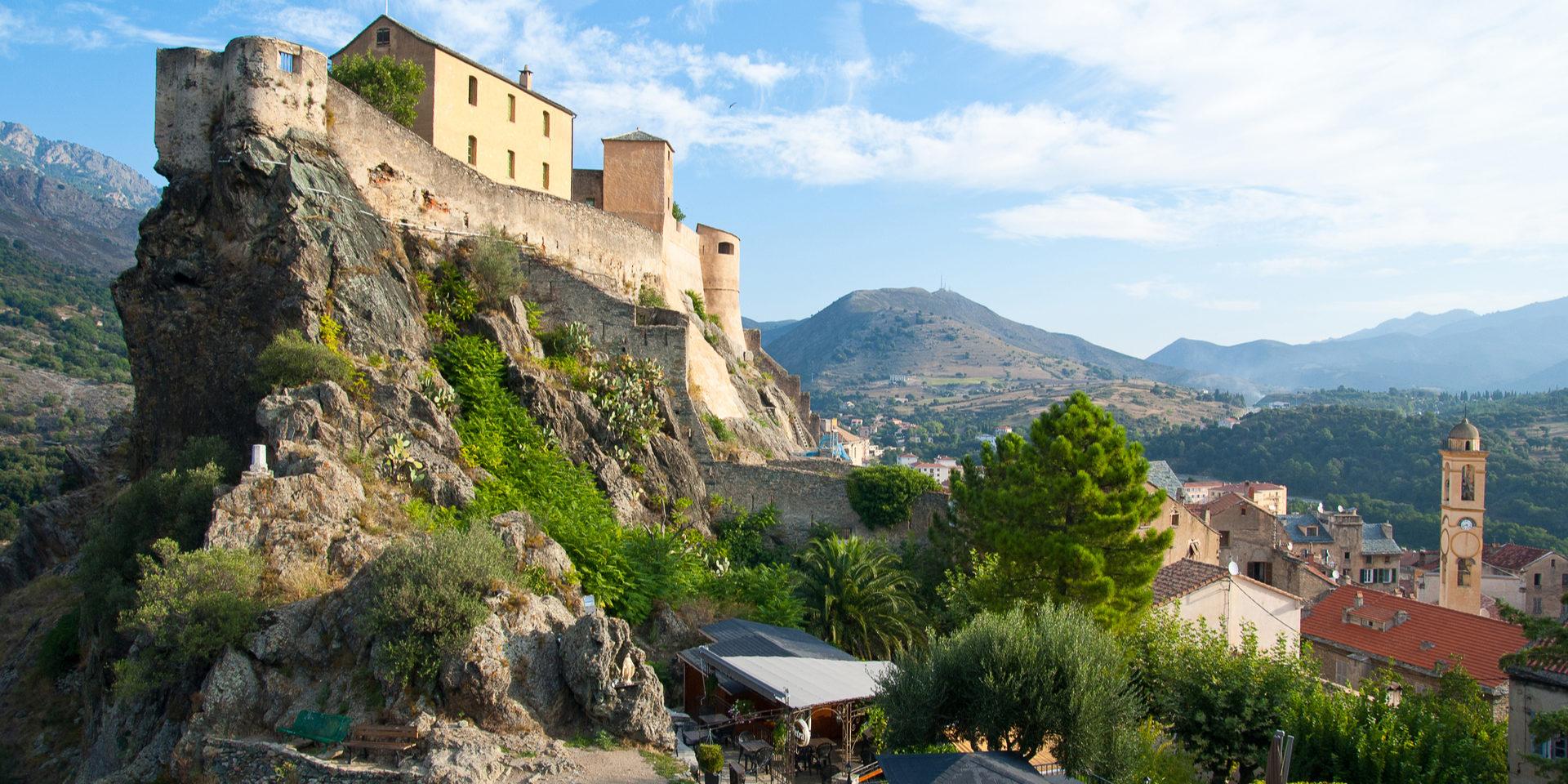 Corte Corté Restonica Corsica Frankrijk