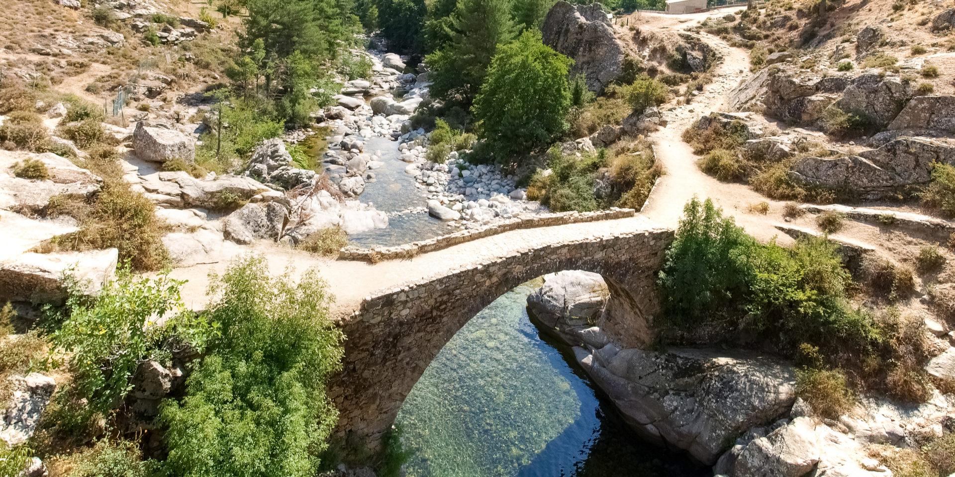 Golo-rivier Haute-Corse Corsica Frankrijk