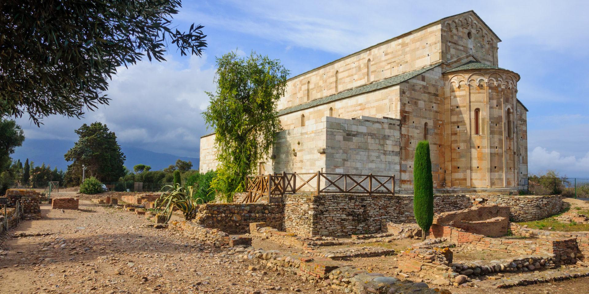 La-Canonica Santa-Maria-Assunta Bastia Lucciana Corsica Frankrijk kathedraal Romaanse-kerk Mariana Romeinse-kolonie