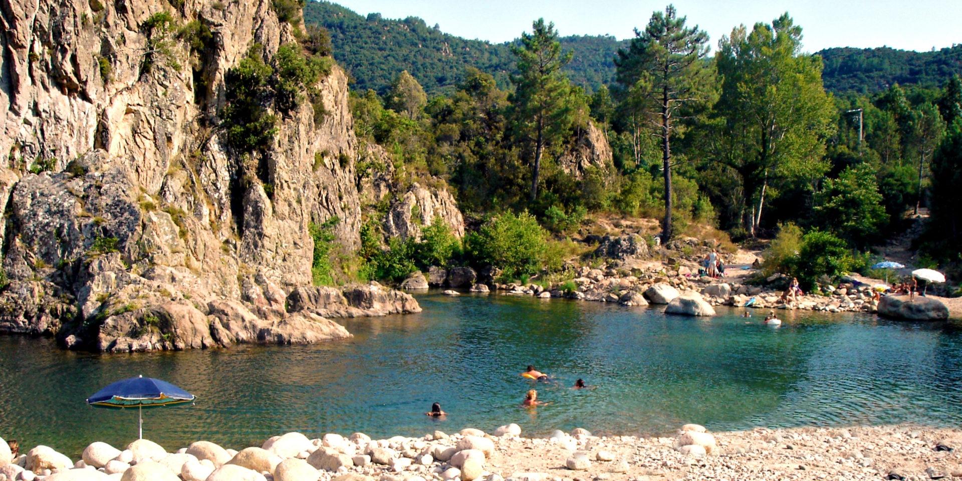 Solenzara-rivier Bavella-Massief Corsica Frankrijk