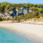 Sperone Corsica Frankrijk petit-Sperone strand zee paradijselijk zonnig