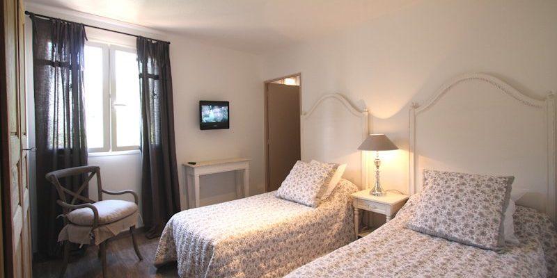 U San Dume Cateri Balagne Corsica Frankrijk kamer eenpersoonsbedden