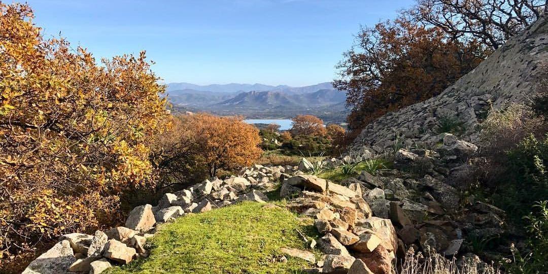 Vallee-du-Reginu Lac-de-Codole Balagne Corsica Frankrijk