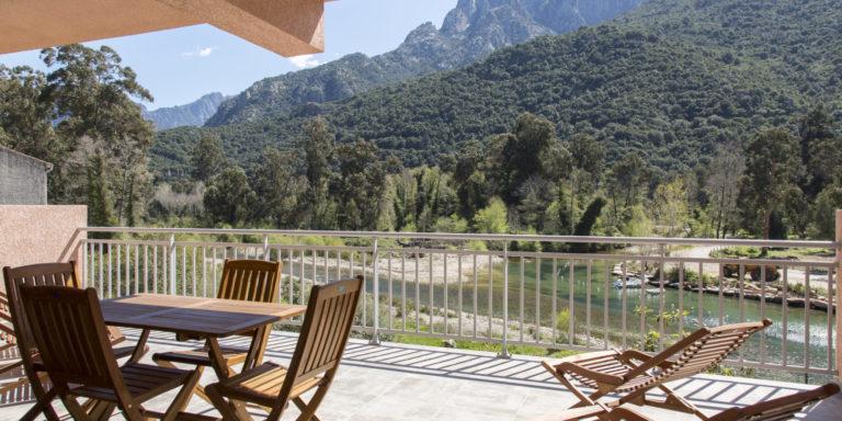 Residence Capu Seninu Porto Oto Corsica Frankrijk calanches-de-Piana