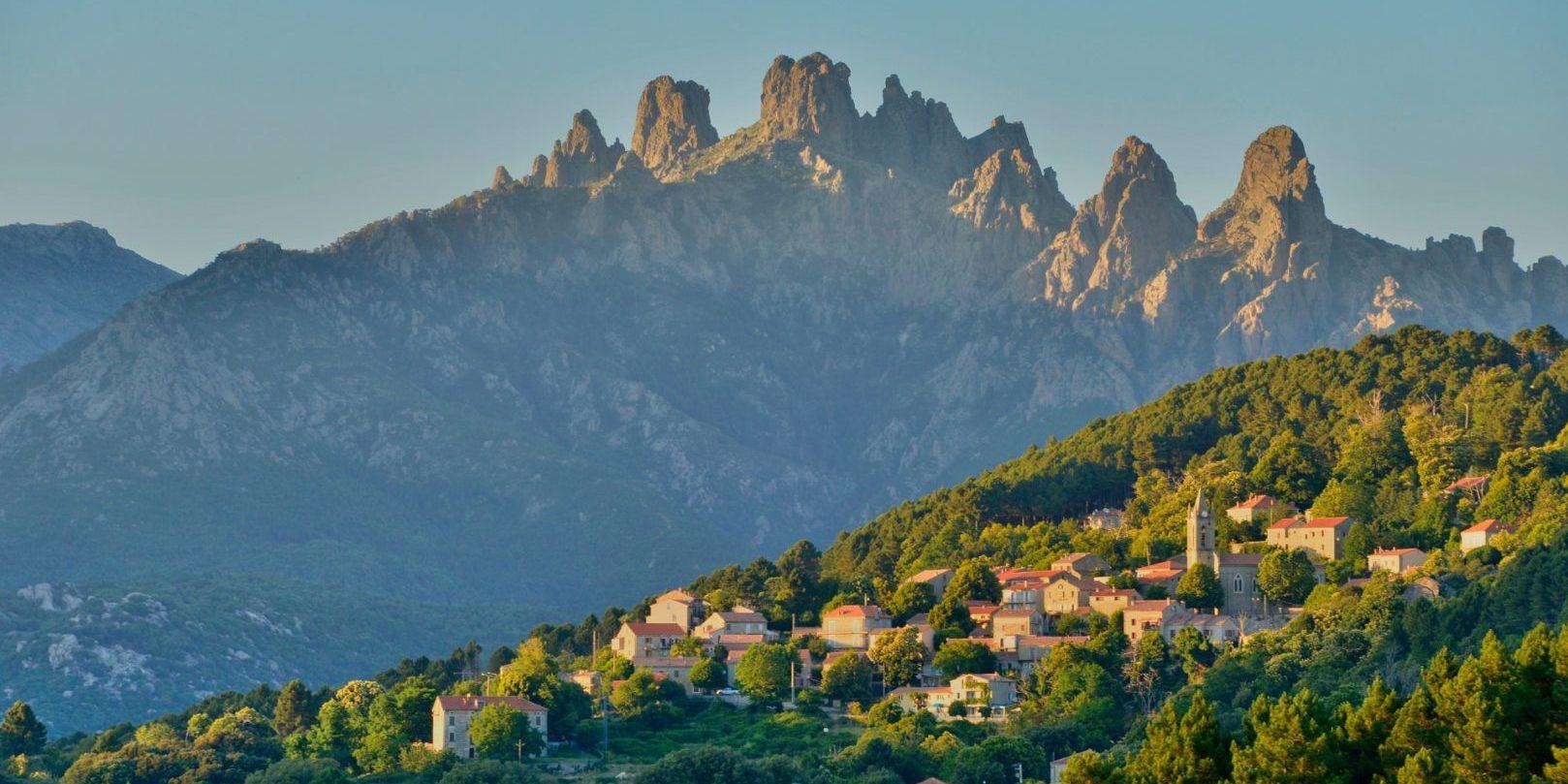Zonza Bavella Alta Rocca Terre-des-Seigneurs Corsica Frankrijk